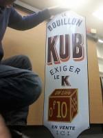 bouillon kub 1.00 x 0.33 mètre