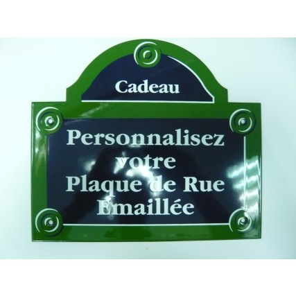 plaque de rue maill es personnalis es plaque maill es ets jacquin la plaque mail e. Black Bedroom Furniture Sets. Home Design Ideas